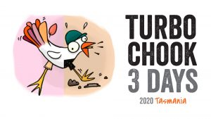 Turbo Chook 3 Days orienteering event Logo